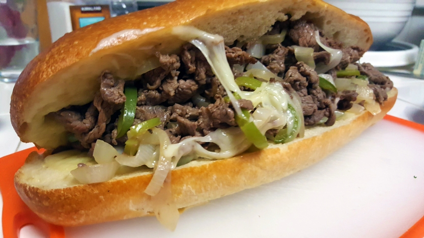 Spring Means Sandwiches: French Dip PhillyCheesesteak