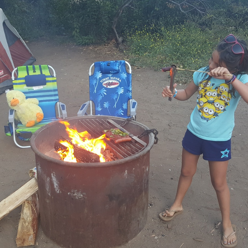 Healthy Campfire Cooking with Kaia